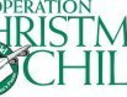 Thank you for Helping Operation Christmas Child!