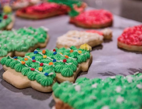 Cookie & Pizza Party December 8th