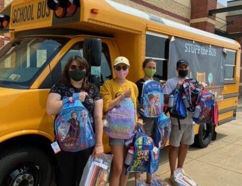 We 'Stuffed the Bus'!